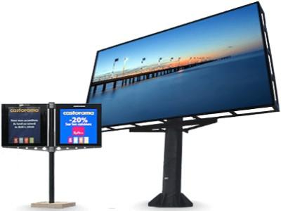 اسعار شاشات العرض الدعائية