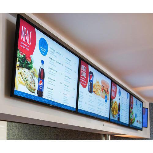 شاشات العرض الذكية الخاصة بالمطاعم